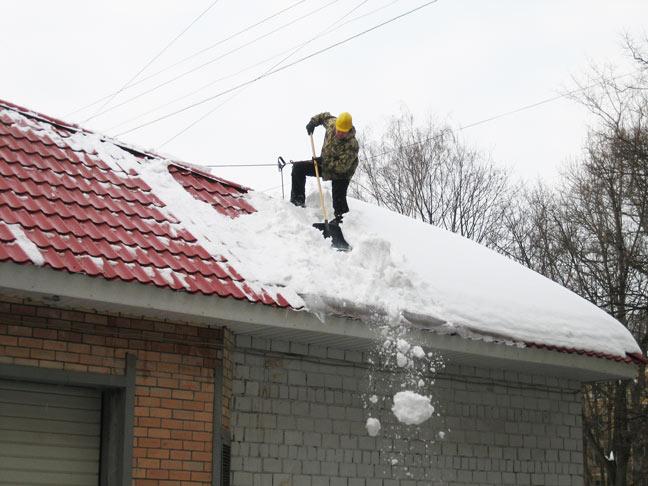 Образец договора очистки кровли от снега